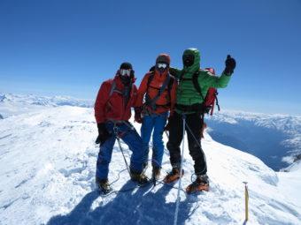 Monte Bianco e Gran Paradiso